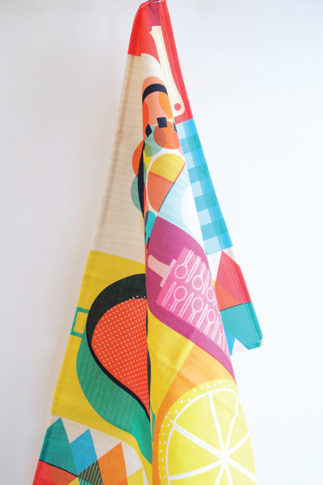 Sam Osborne Wondercook Tea Towel1 Wondercook Tea Towel