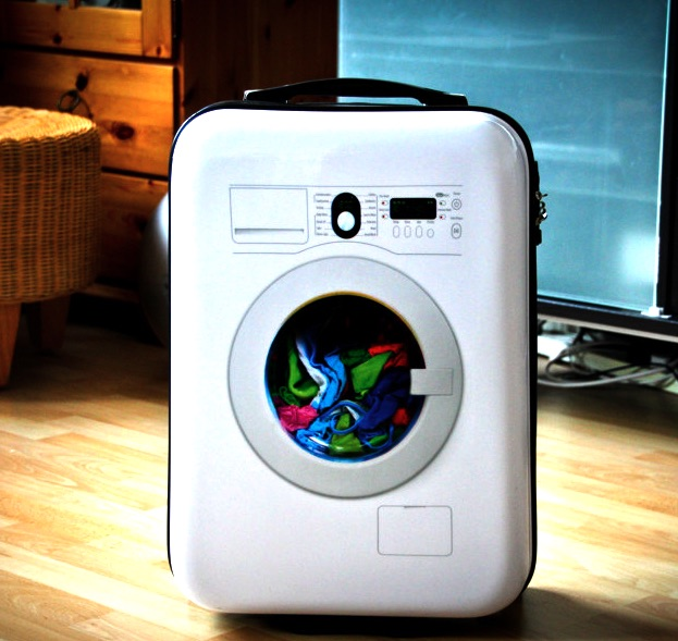 Washing Machine Suitcase by Suitsuit Daily Gadget Inspiration #164