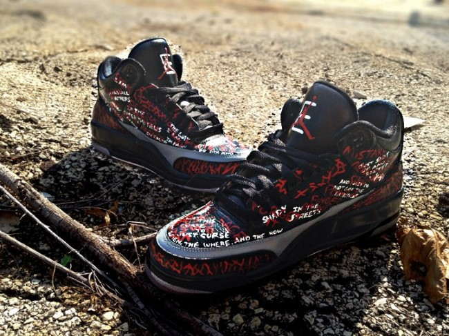 air jordan 3 the way I am custom 21 650x487  10 Most Exclusive and Expensive Sneakers