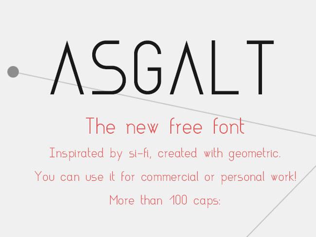 asgalt Asgalt Free Font