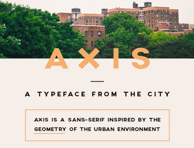 axis font 650x496 Axis Free Typeface