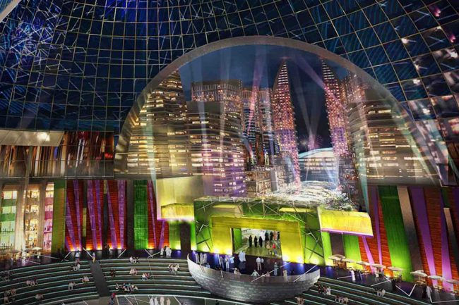 Dubai Is Building The Worlds First Indoor City