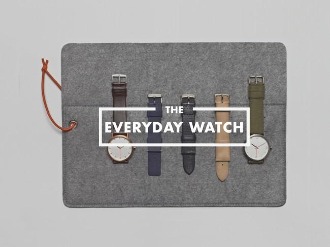 everyday watch 0 650x487 Everyday Watch: 1 Timepiece, 10 Variations, 365 Days a Year