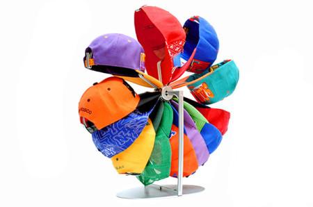 kapz rotary cap storage organizer 01 450x2981 Kapz: Rotary Cap Storage Organizer