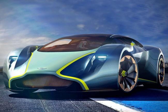 martin 1 650x433 Aston Martin Debuts DP 100 Vision GT