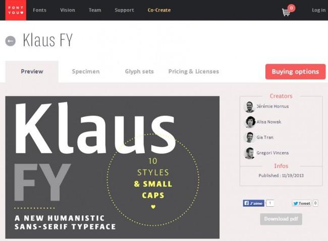 md 650x478 Klaus FY Family (10 Styles) + Bonus Serafine font   only $27!