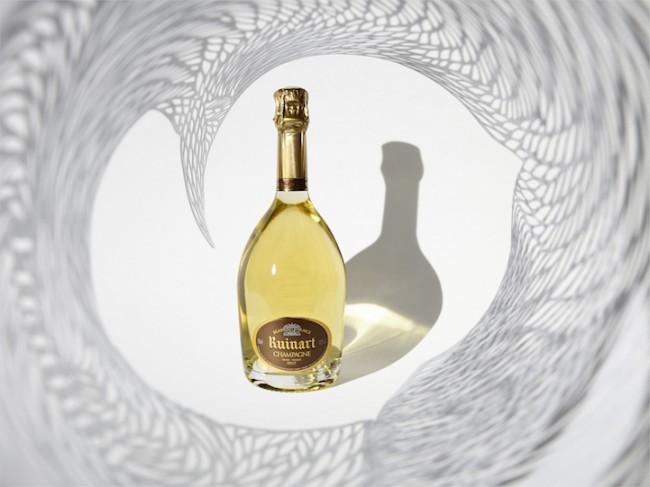 ruinart02 650x487 Ruinart Champagne Presents Georgia Russells Cutting Edge Works at Art Basel 2014