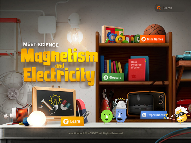 title screen 650 Meet Science: Magnetism and Electricity