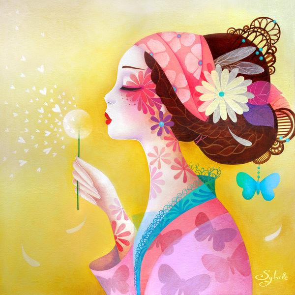 001 amazing asian illustrations lady sybile Amazing Asian Illustrations by Lady Sybile