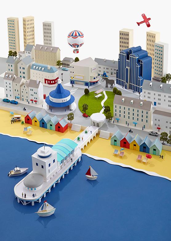 001 paper cities hattie newman Paper Cities by Hattie Newman