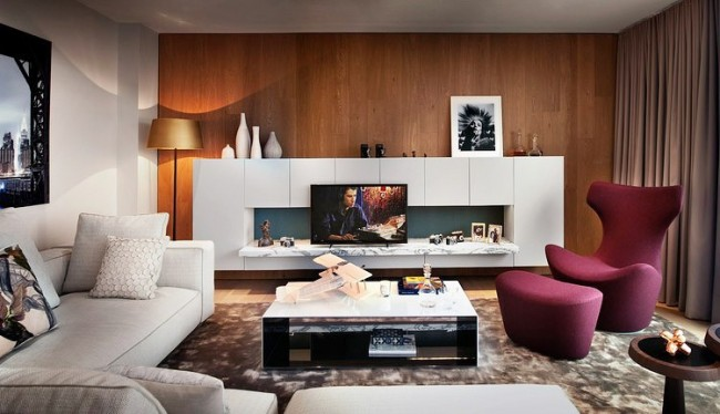 001b london penthouse tg studio 650x374 London Penthouse by TG Studio