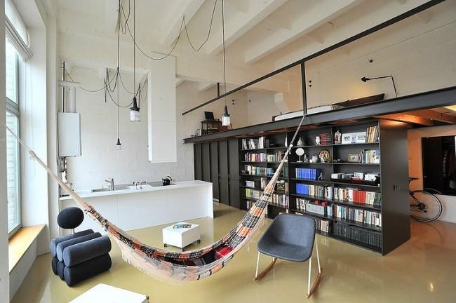 002 loft apartment inblum 650x432 Loft Apartment by Inblum