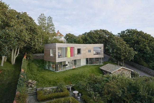 002 mlle house elding oscarson 650x433 Mölle House by Elding Oscarson