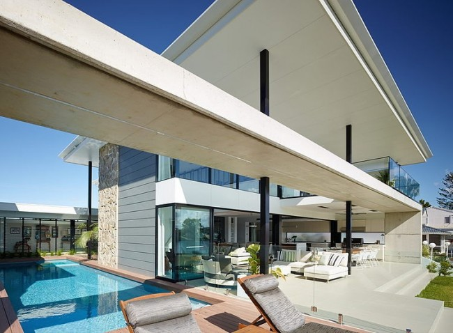 005 riverfront residence bda architecture 650x478 Riverfront Residence by BDA Architecture