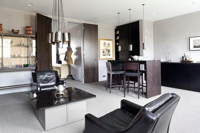 007 eaton square apartment paul craig 650x433 Eaton Square Apartment