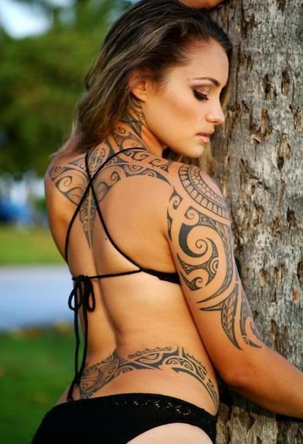 10 Maori tattoos for women 30 Tribal Tattoos for Women