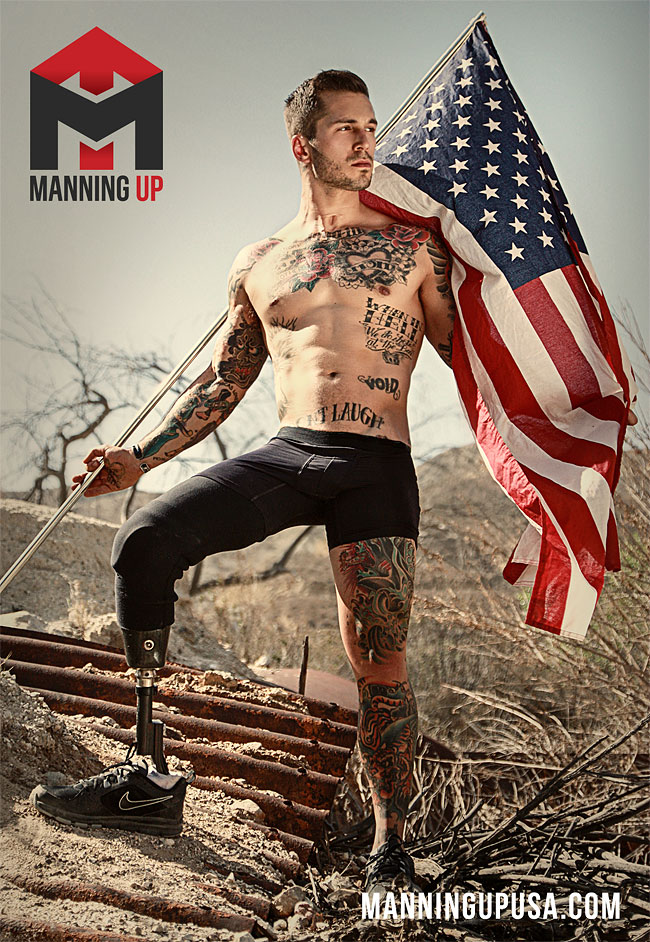 1168 Alex Minsky, Marine Who Lost a Leg and Gained a Modeling Career