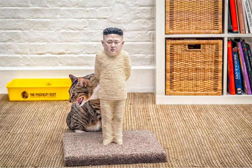 1184 Cats Attack Kim Jong un and Vladimir Putin