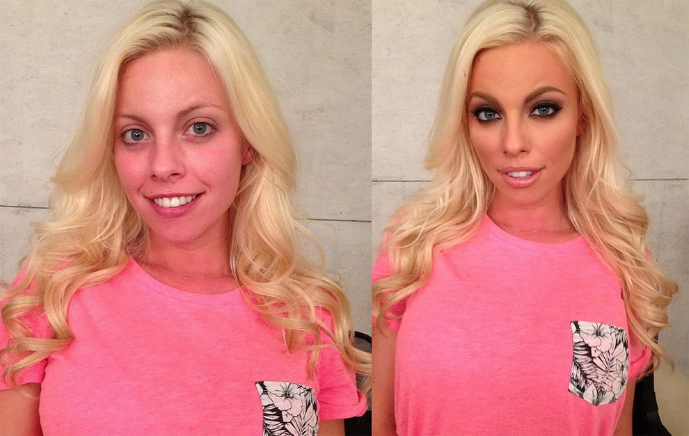 128 Mind Blowing Before and After Pictures of Makeup Makeovers