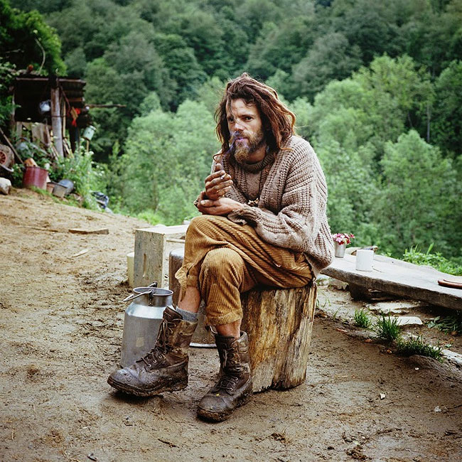 139 Compelling Portraits of People Who Abandoned Civilization for Life in the Wilderness