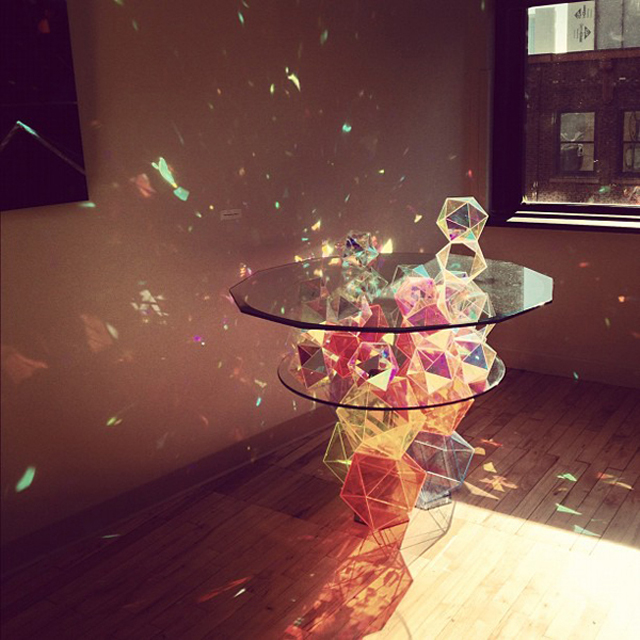 1390411230 5 Sparkle Geometric Table by John Foster
