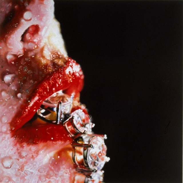 1391543079 2 640x640 Amazing Hyper realistic Paintings by Marilyn Minter