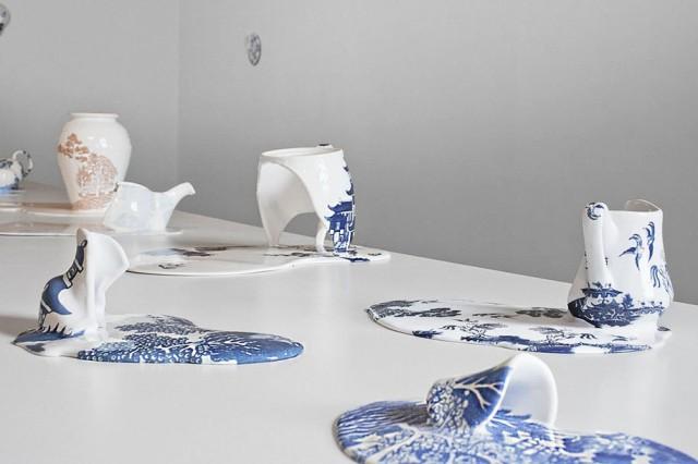 1393439217 1 640x426 Melting Porcelain Art by Livia Marin