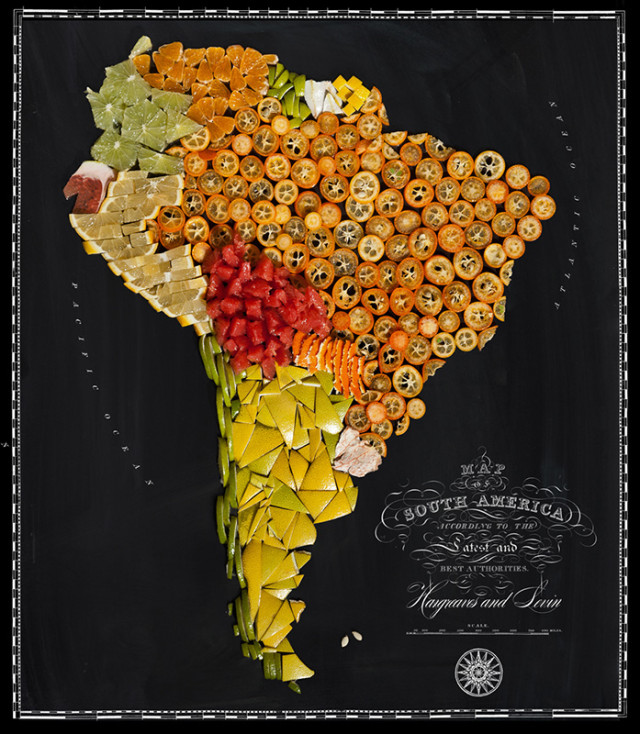 1398144960 1 640x734 Beautiful Maps Made from Iconic Regional Foods