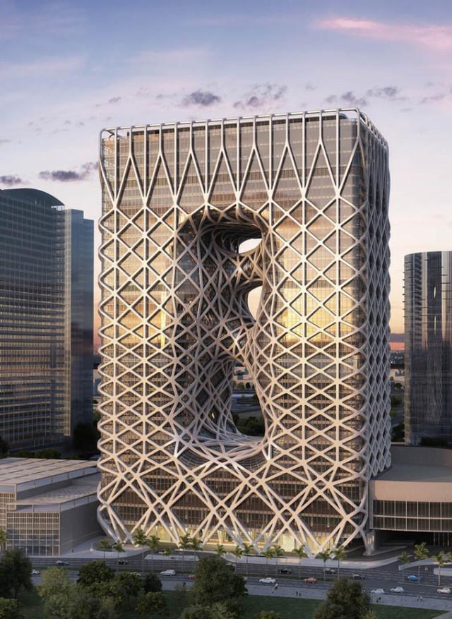 1398791346 1 640x877 City of Dreams Hotel by Zaha Hadid Architects