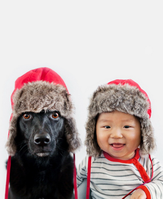 1399574055 8 640x780 Zoey and Jasper in Funny Hats by Grace Chon
