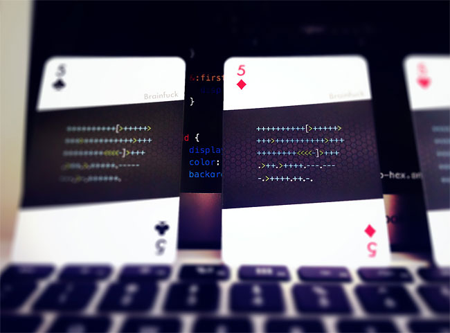 150 code:deck   Playing Cards for Developers