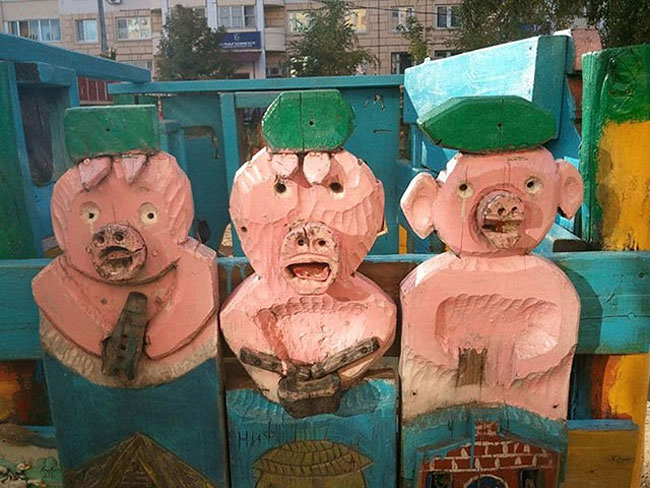 1518 Nightmare Playgrounds: The Worst and Scariest Playgrounds of All Time, Part 1