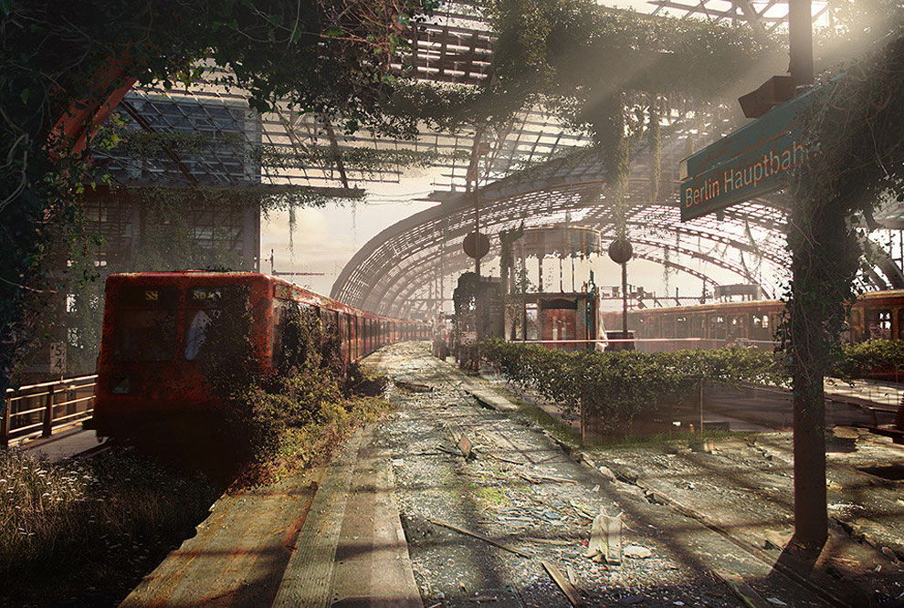 219 Naughty Dog Artists The Last Of Us ified a Bunch of Locations. Amazing.