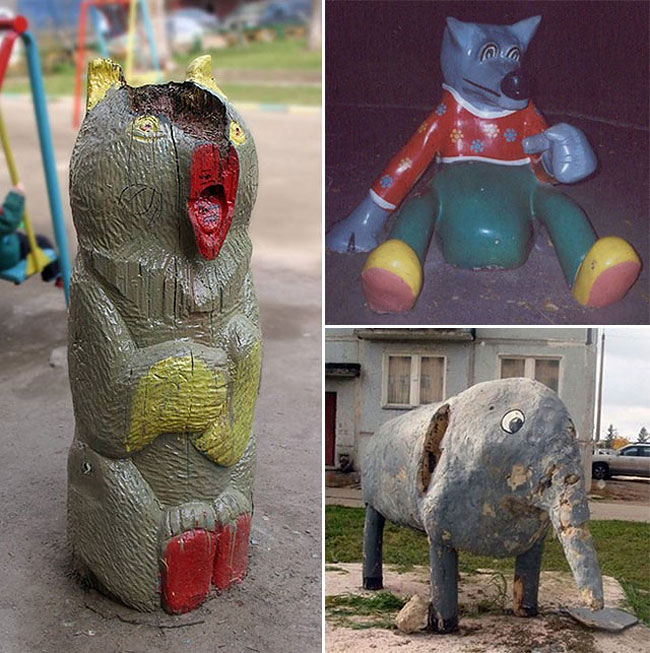 2317 Nightmare Playgrounds: The Worst and Scariest Playgrounds of All Time, Part 1