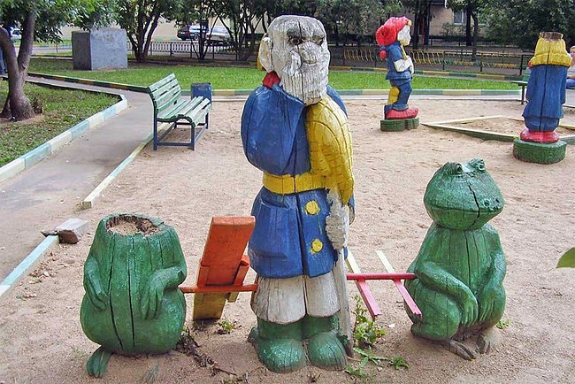 2410 Nightmare Playgrounds: The Worst and Scariest Playgrounds of All Time, Part 1