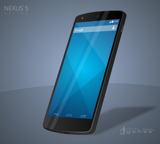 32 Free Nexus 5 Mockup Templates