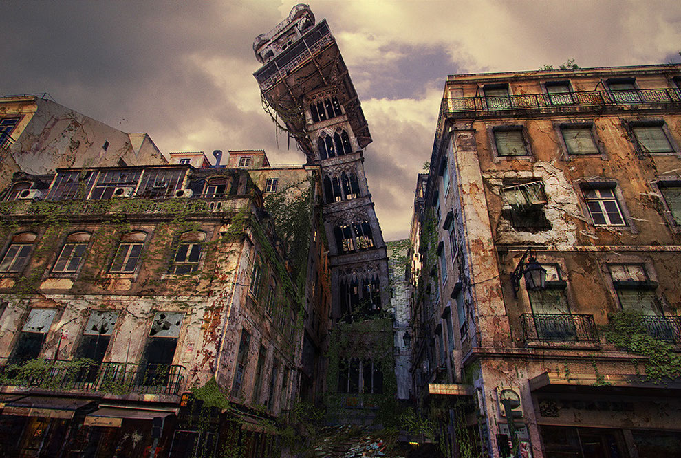 341 Naughty Dog Artists The Last Of Us ified a Bunch of Locations. Amazing.