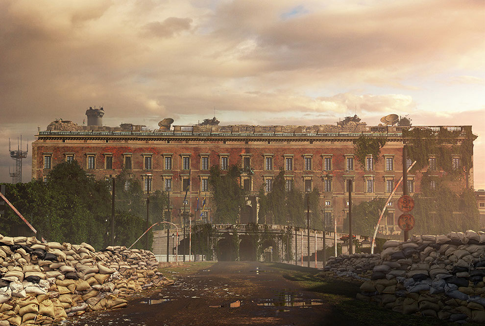 361 Naughty Dog Artists The Last Of Us ified a Bunch of Locations. Amazing.