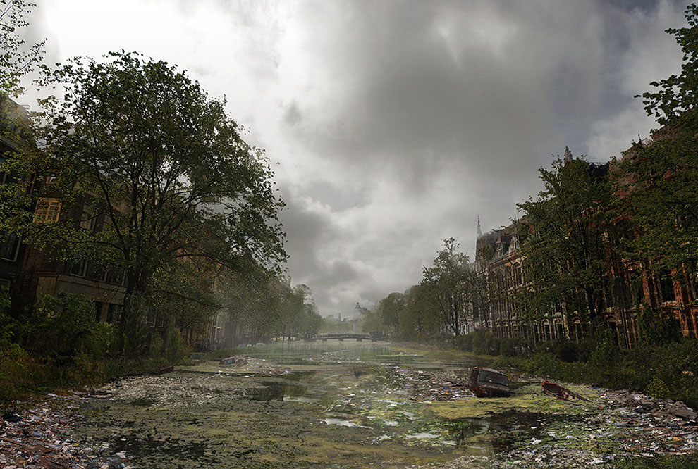 414 Naughty Dog Artists The Last Of Us ified a Bunch of Locations. Amazing.