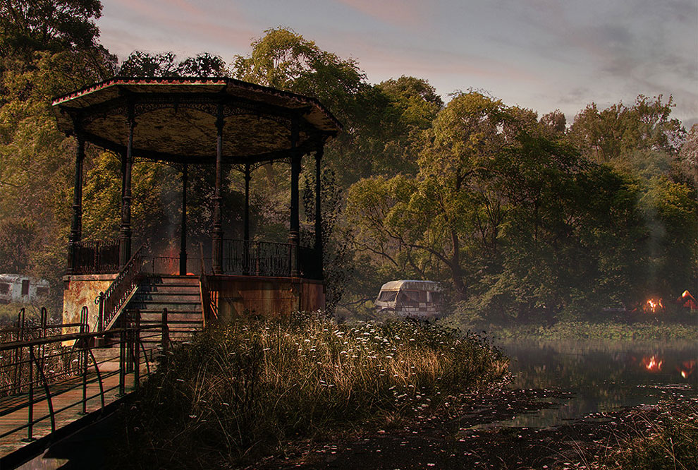 421 Naughty Dog Artists The Last Of Us ified a Bunch of Locations. Amazing.