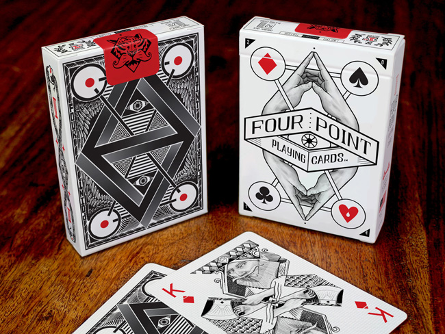 4PointTuck Four Point Playing Cards