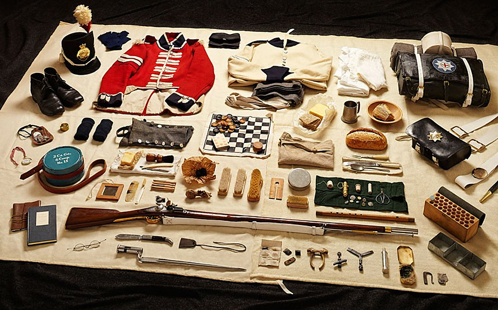 713 Military Kit Through the Ages: from the Battle of Hastings to Helmand