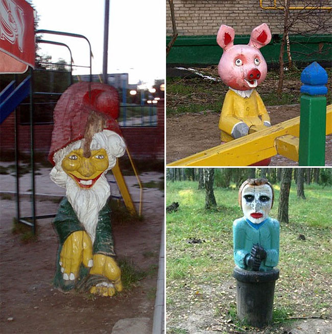 751 Nightmare Playgrounds: The Worst and Scariest Playgrounds of All Time, Part 1