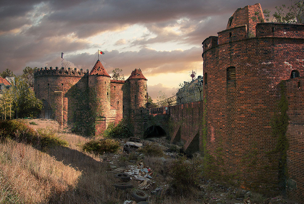 811 Naughty Dog Artists The Last Of Us ified a Bunch of Locations. Amazing.