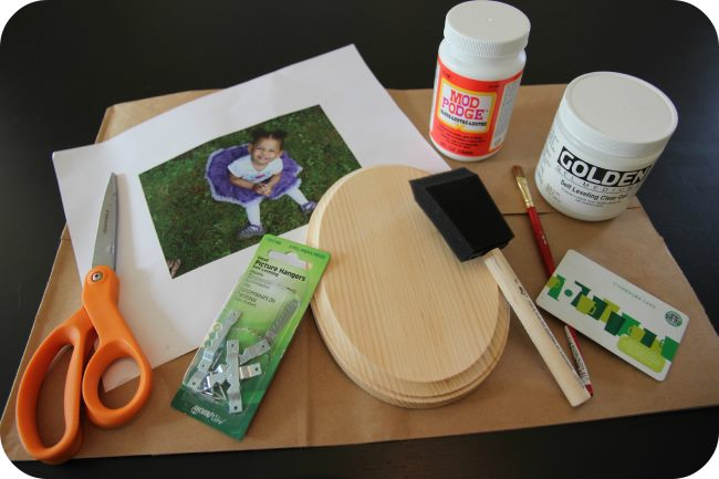 DIY Photo Transfer on Wood Tools Photo Transfer On Wood