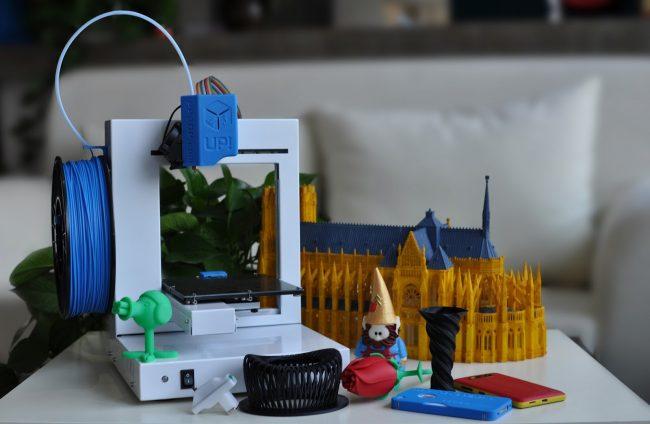 UP Start Plus 3D Printer 021 650x424 Daily Gadget Inspiration #166