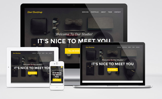 agency Agency : Free One Page Bootstrap Theme for Digital Agencies
