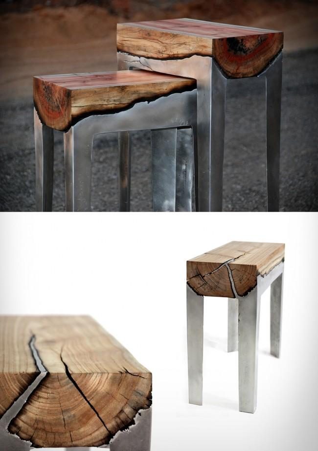 aluminum wood furiture hilla shamia large 650x922 Aluminum & Wood Furniture | by Hilla Shamia