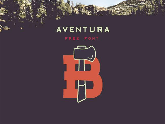 aventura Aventura Free Font