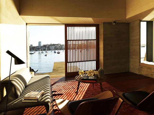 designrulz harbourside apartment andrew burges architects 1 650x488 Contemporary Apartment Building by Andrew Burges Architects